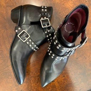 Brand New Marc by Marc Jacobs studded ankle boots